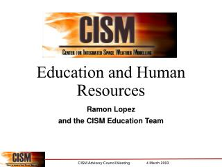 Education and Human Resources