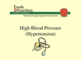 High Blood Pressure Hypertension Blood Pressure
