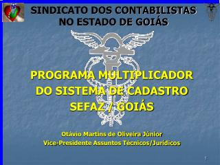 SINDICATO DOS CONTABILISTAS NO ESTADO DE GOIÁS