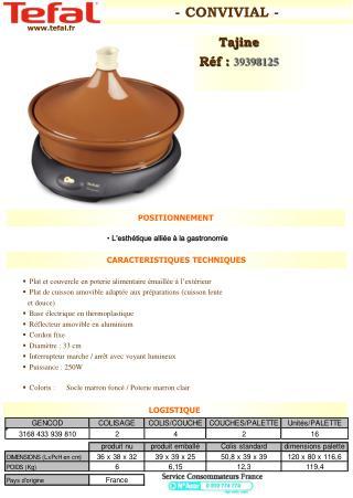 Plat et couvercle en poterie alimentaire émaillée à l'extérieur