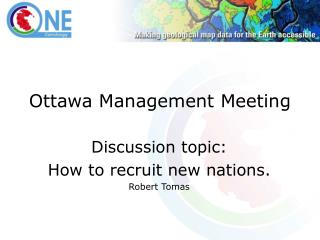 Ottawa Management Meeting
