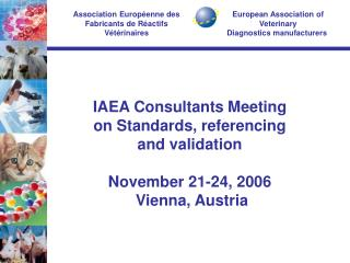 European Association of Veterinary  Diagnostics manufacturers�