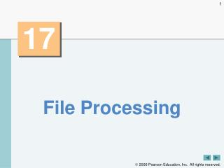File Processing