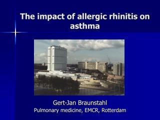 The impact of allergic rhinitis on asthma