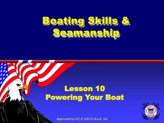 Boating Skills  Seamanship