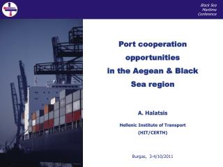Port cooperation opportunities in the Aegean & Black Sea region