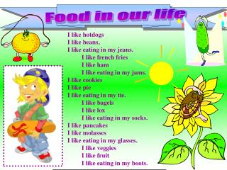 Food in our life