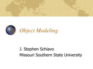 Object Modeling