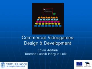 Commercial Videogames  Design & Development