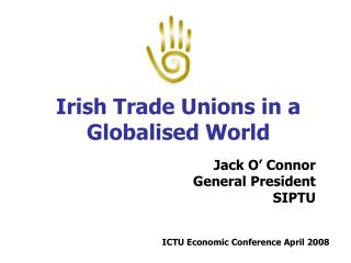 Irish Trade Unions in a Globalised World