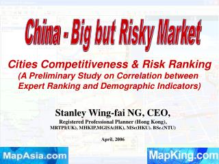 Stanley Wing-fai NG, CEO,  Registered Professional Planner (Hong Kong),