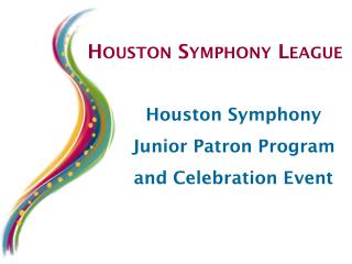 Houston Symphony League
