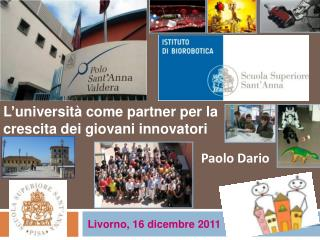 L'università come partner per la crescita dei giovani innovatori