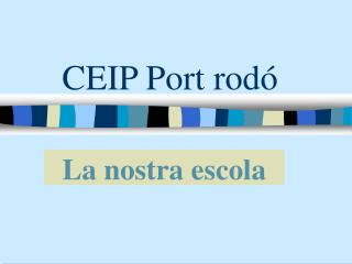 CEIP Port rodó