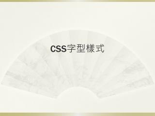 CSS ????