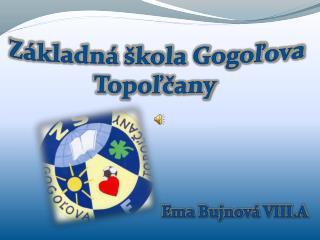 Základná škola Gogoľova Topoľčany