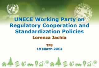 UNECE Working Party on Regulatory Cooperation and Standardization Policies