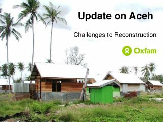 Update on Aceh