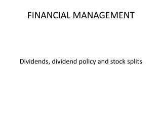 Shares and Dividends 2