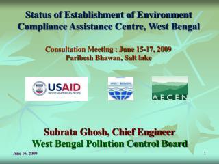 Status of Establishment of Environment Compliance Assistance Centre, West Bengal
