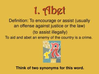 1. Abet