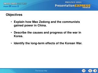 Explain how Mao Zedong and the communists gained power in China.