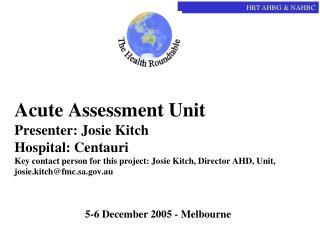 5-6 December 2005 - Melbourne