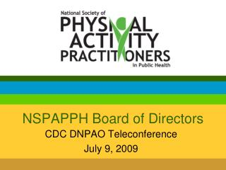 NSPAPPH Board of Directors