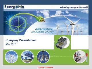 Company Presentation May  2011