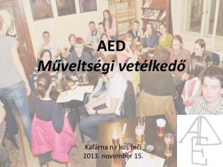 AED Műveltségi vetélkedő