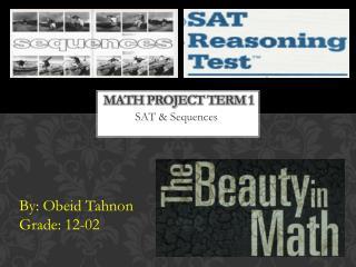 Math Project Term 1