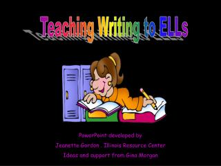 Teaching Writing to ELLs