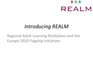 Introducing REALM