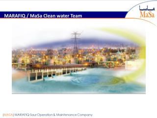 MARAFIQ /  MaSa  Clean water Team