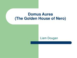 Domus Aurea (The Golden House of Nero)
