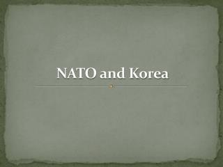 NATO and Korea