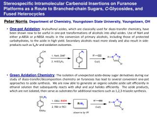 Peter Norris ,  Department of Chemistry, Youngstown State University, Youngstown, OH