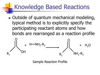 Knowledge Based Reactions