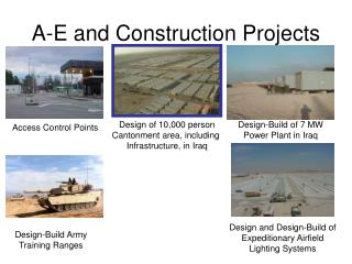 A-E and Construction Projects