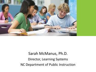 Sarah McManus, Ph.D.