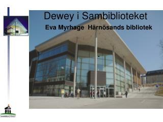 Dewey i Sambiblioteket