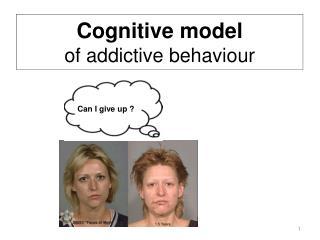 Cognitive model  of addictive behaviour
