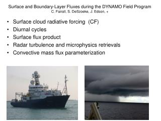 Surface cloud radiative forcing  (CF) Diurnal cycles Surface flux product