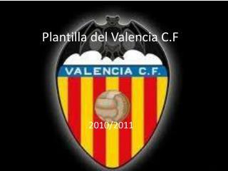 Plantilla del Valencia C.F