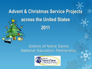 Sisters of Notre Dame  National Education Partnership