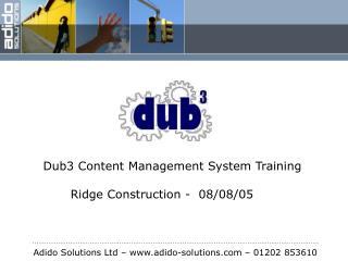 Adido Solutions Ltd – adido-solutions – 01202 853610
