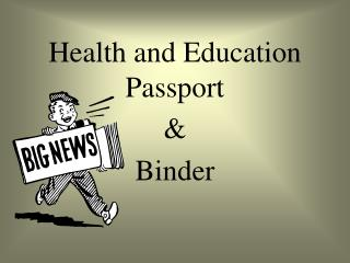 Health and Education Passport