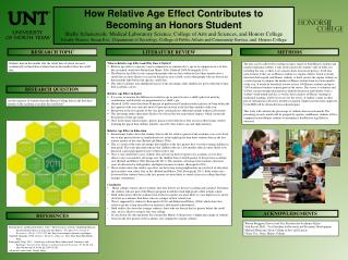 How Relative Age Effect Contributes to Becoming an Honors Student