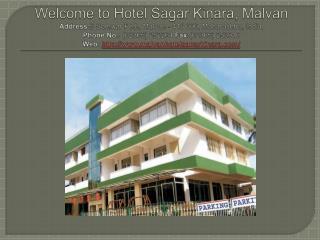 Hotel Sagar Kinara, book budget hotels in Malvan