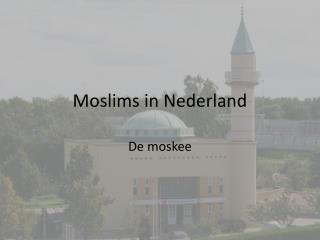 Moslims in Nederland